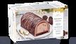 Bûche glacée chocolat, 8 parts