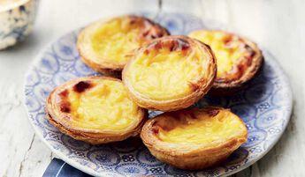 6 Pasteis de nata, petits flans portugais