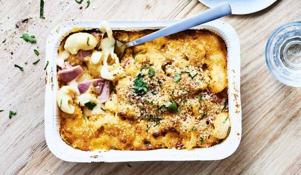 Mac and Cheese au jambon