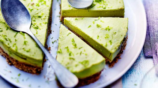 Cheesecake à l'avocat