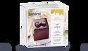 Joli cadeau, mousse au chocolat, 1 part