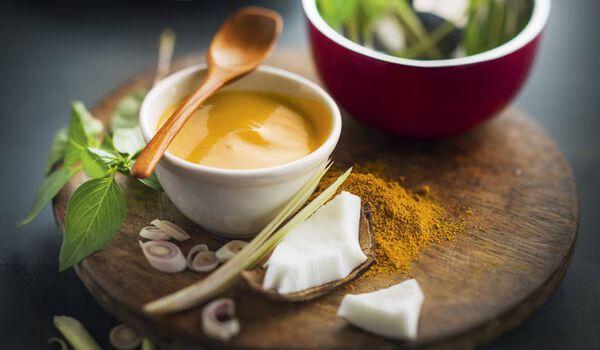 Sauce à la thaïlandaise curry coco