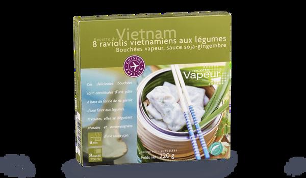 8 raviolis vietnamiens aux légumes