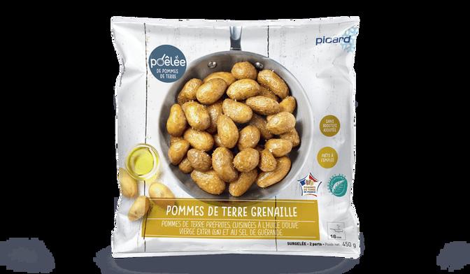 Poêlée de pommes de terre grenaille