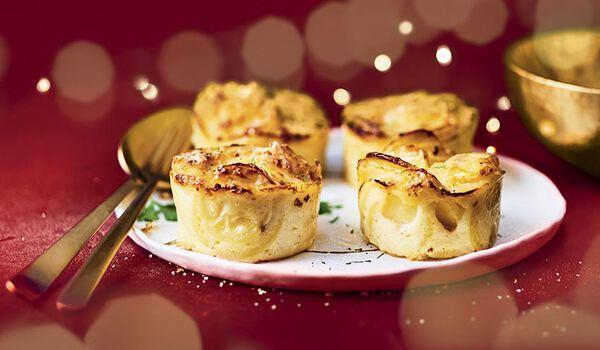 4 mini-gratins de pomme de terre