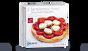 2 tartelettes fines tomate cerise, pesto, chèvre