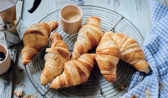 10 mini-croissants