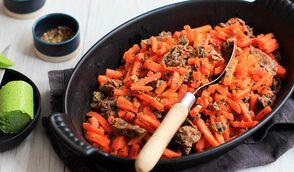 Bœuf carotte minute