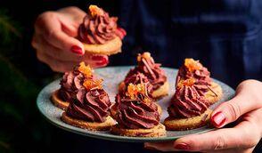 Petites tartelettes chocolat-gingembre