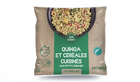 Quinoa et céréales cuisinés aux petits légumes