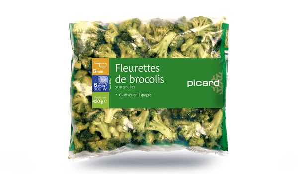 Fleurettes de brocolis, Espagne