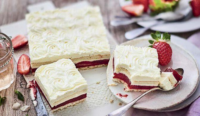 Gâteau façon fraisier