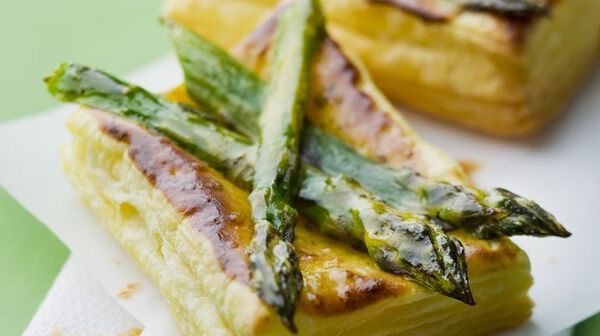 Toasts d'asperges