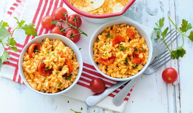 500G RISOTTO AUX TOMATES