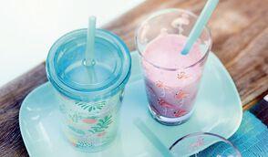 Milkshake aux fruits et à la vanille