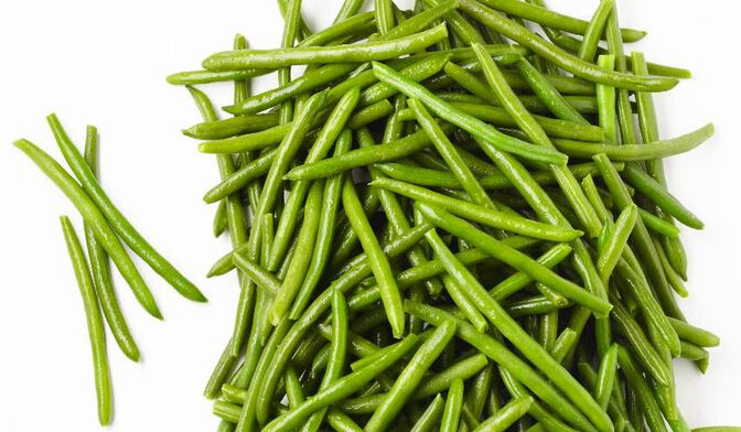 Haricots verts bio local