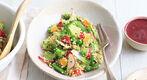 Taboulé de quinoa et fruits rouges