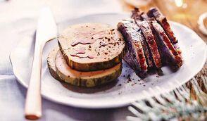 Foie gras café-crème de whisky