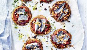 Tartelettes à la tomate séchée et sardines