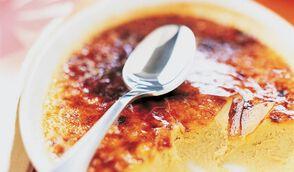 Crème brulée au foie gras