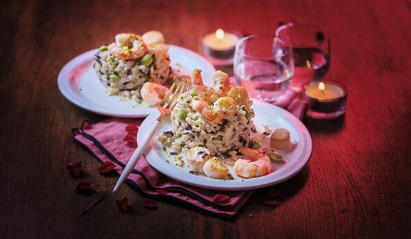Duo box à cuisiner duo de crevettes et St-Jacques