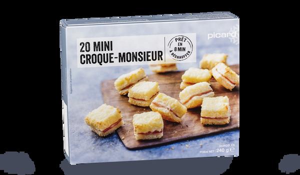 20 mini croque-monsieur
