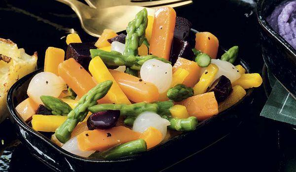 Poêlée de légumes glacés