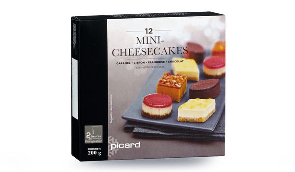 12 mini-cheesecakes