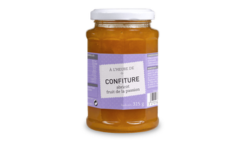 Confiture abricot-fruit de la passion