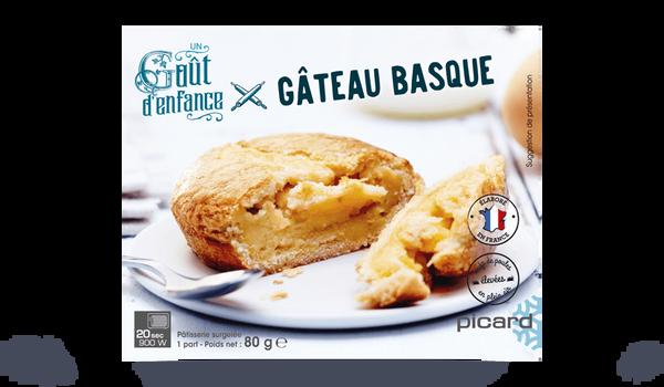 Gâteau basque, 1 part