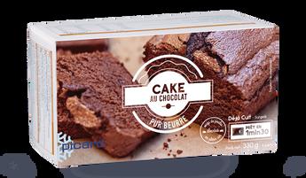 Cake au chocolat, 6 parts
