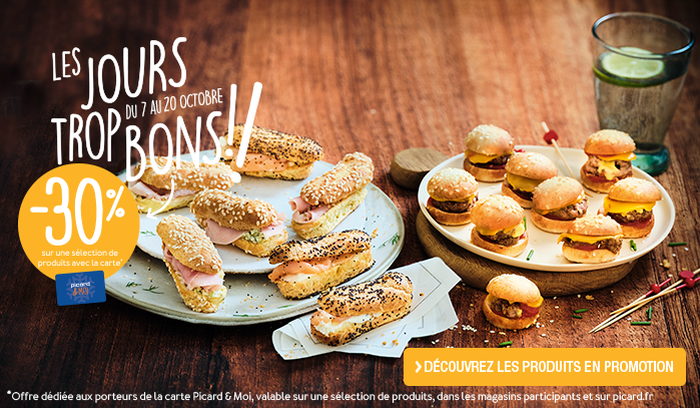 Mini-burgers et mini-sandwichs moelleux