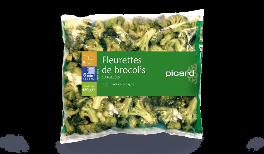 Fleurettes De Brocolis Surgeles Les Legumes Picard