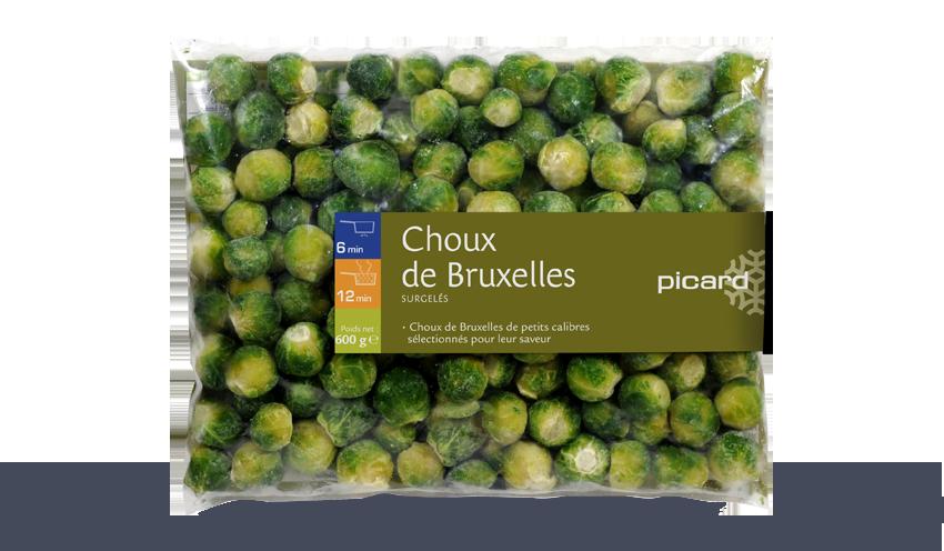 Choux De Bruxelles Surgeles Les Legumes Picard