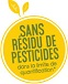 Sans résidu de pesticides