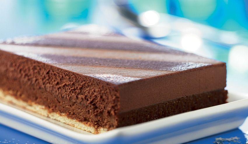Buche 3 chocolat picard