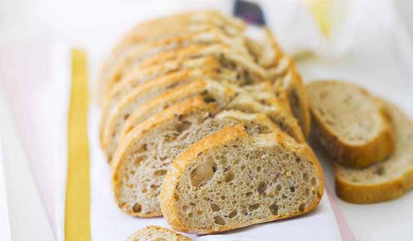 Nombre calorie pain aux cereales