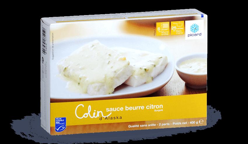 Colin D Alaska Msc Sauce Beurre Citron Surgeles Les Plats Cuisines