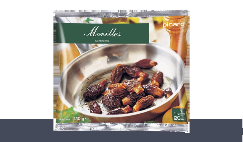 Morilles Surgeles Les Legumes Picard