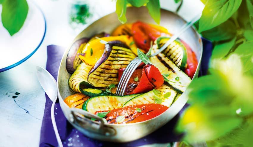 Melange De Legumes Grilles Surgeles Les Legumes Picard