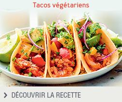 Recette Tacos végétariens anonyme