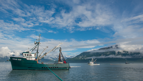 bateau de pêche en alaska