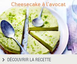 Cheesecake à l'avocat anonyme