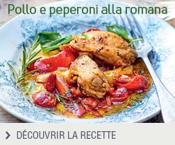 Pollo e peperoni alla romana anonyme