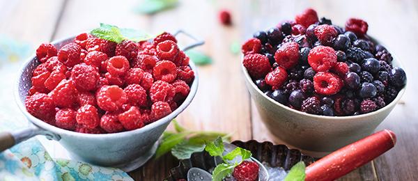 Les fruits rouges bio Picard
