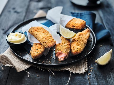 saumon pané asc
