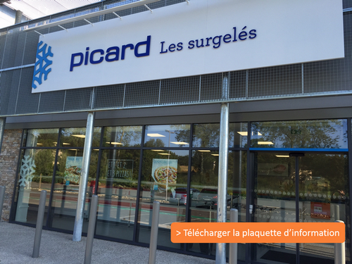 façade magasin franchise Picard